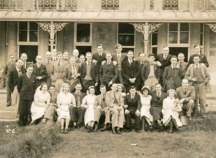 I believe this photo to be taken at the ware park sanitorium in the 50's, can you verify this is the building.
