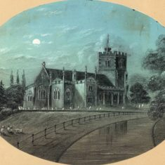 'Broxbourne Church and River' (ref. CV/BROX/14) | Hertfordshire Archives & Local Studies