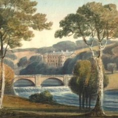 'Brocket Hall' by R. Hale (ref. CV/HAT/28)  | Hertfordshire Archives & Local Studies