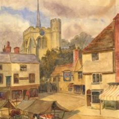'St Mary's Church, Hitchin' (ref. CV/HIT/66) | Hertfordshire Archives & Local Studies