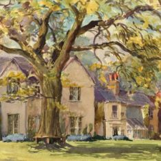'Offley Vicarage' by Diana Hughes, early C20th (ref. CV/OFF/25)   | Hertfordshire Archives & Local Studies