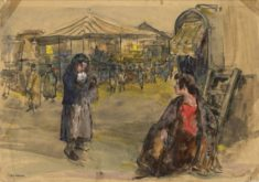 'Barnet Fair' by W. E. Sparkes, 1913 (ref. CV/BARN/8)