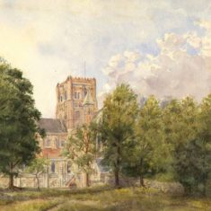 'St Albans Abbey' (ref. CV/ST.A/113) | Hertfordshire Archives & Local Studies