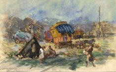 'Barnet Fair' by W. E. Sparkes, 1913 (ref. CV/BARN/10)