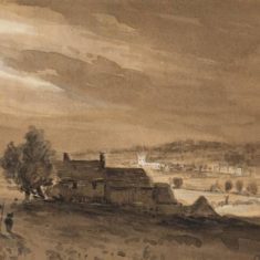 'Distant View of Berkhamsted' (ref. CV/BERK.GT/2) | Hertfordshire Archives & Local Studies