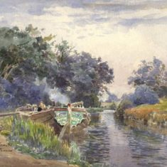 'Berkhamsted Canal', 1906 (ref. CV/BERK.GT/1) | Hertfordshire Archives & Local Studies