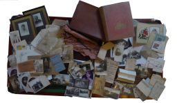 Contents of suitcase belonging to George's younger sister, Lily.