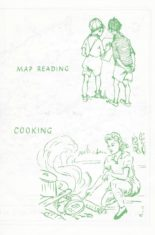 Map reading for boys and cooking for girls!