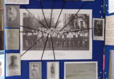 """""""Seeing It Through"""" WW1 Community History event - Ware (cont'd.) - Display 2"""