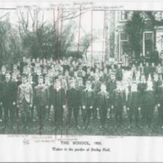 Hertford Grammar School circa.1905