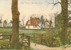 New Villas postcard view