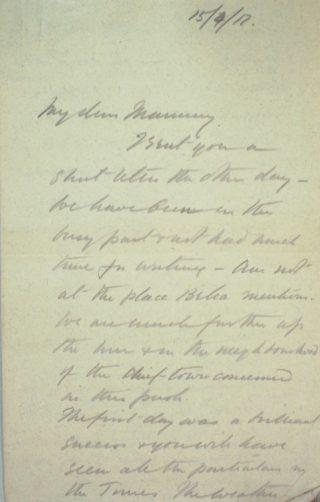 The Letters of Arthur Martin-Leake April 1917