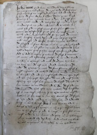 Will of Thomas Pope | Hertfordshire Archives & Local Studies