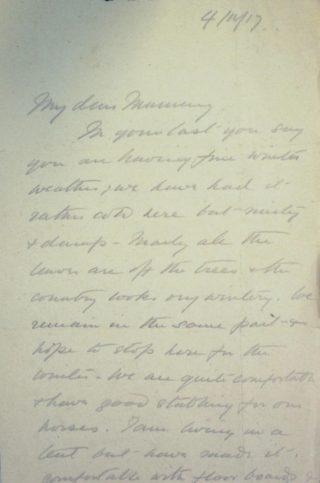 The Letters of Arthur Martin-Leake November 1917