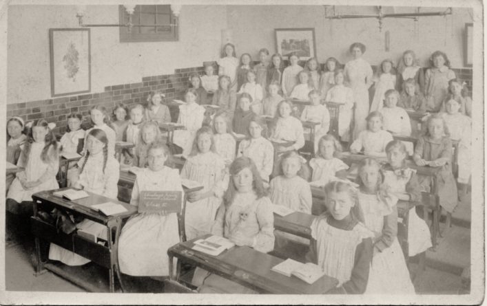 Cheshunt Junior Council School c1912 Showing Hilda Florence Hart