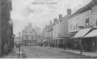Market Place, St Albans | Hertfordshire Archives & Local Studies
