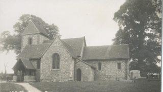 Holy Cross, Sarratt - one of many Hertfordshire churches incorporating puddingstone | Hertfordshire Archives & Local Studies