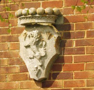 Stone depicting the Egerton lion. 2017   Colin Wilson