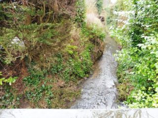 The Spital brook in 2018. Hardly a raging torrent. | Colin Wilson