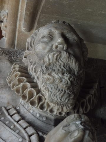 Sir George Knighton as depicted on his tomb. 2018 | Colin Wilson