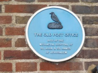 The information plaque on 'The Jolly Postie' public house. 2017 | Colin Wilson