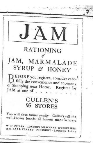 Advertisement - Hertfordshire Mercury 12 October 1918