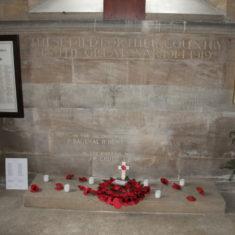 Inside Hertingfordbury Church. St Mary's Lane, Hertingfordbury. SG14 2LD   Eric Riddle