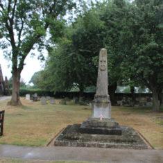 Datchworth.All Saints Church, Bury Lane, SG3 6RG. In the churchyard.