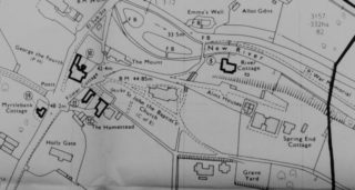 Part of the 1975 conservation area map. | Hertfordshire County Council Planning Dept