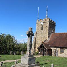 St Ippolyt's. 1st World War. In churchyard, Ashbrook Lane, SG4 7PB | Eric Riddle