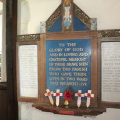 St Paul's Walden. In Church SG4 8DN   Eric Riddle