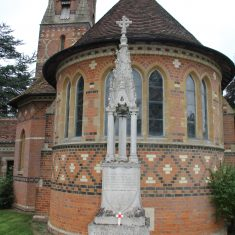 Ayot St Peter's. In front of Dome of St Peter's Church, AL6 9BG   Eric Riddle