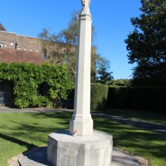 Hatfield. Opposite Hatfield Railway Station, in a small memorial garden next to the entrance of Hatfield House. AL9 5AB   Eric Riddle