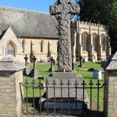 Lemsford. At the front of St John's Church, AL8 7TR   Eric Riddle