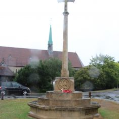 Bayford. Outside St. Mary's Church, Bayford Lane, SG13 8LY.   Eric Riddle