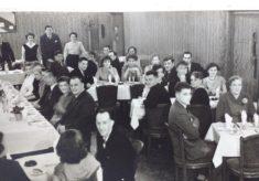 R A Brand Dinner January 1957