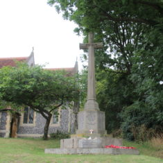 Stanstead Abbott's. In churchyard St Andrew's Church, Chappell Lane, SG12 8HY | Eric Riddle