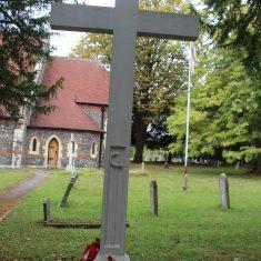 High Wych. In churchyard of St James Church, High Wych Road, CM21 0JB | Eric Riddle