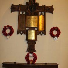 High Cross. Inside St John's Church, SG11 1AZ | Eric Riddle