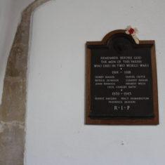 Cottered. Inside St John the Baptist Church, SG9 9PZ | Eric Riddle