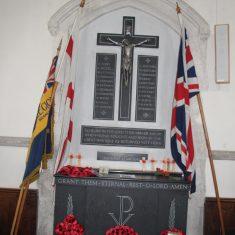 Albury. Inside St Mary's Church , SG11 2JQ   Eric Riddle