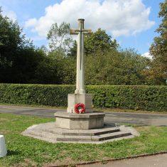 Little Berkhamstead. Junction of Little Berkhamsted Lane and Robins Nest Hill. SG13 8LY   Eric Riddle