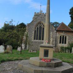 Bennington. In St Peter's churchyard, SG2 7BS | Eric Riddle