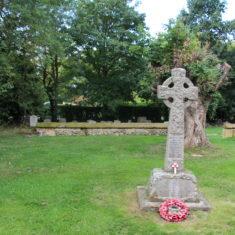 Kelshall. In the churchyard of Church of St Faith, 3, The Street, SG8 9SJ | Eric Riddle