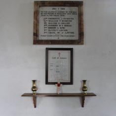 Reed. Inside St Mary's Church, Church Lane, SG8 8AP | Eric Riddle