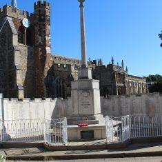 Hitchin. Main Memorial. 1A, Churchyard, SG5 1HR | Eric Riddle