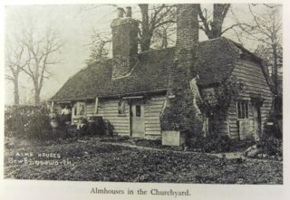 The Sawbridgeworth parish almshouse | Image contained in The Story of Sawbridgeworth, by Workers Education Association