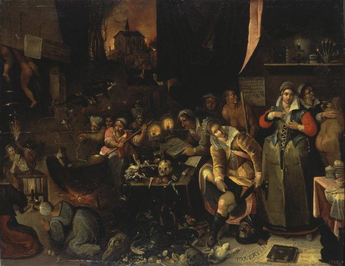 Frans Francken II - Witches' Kitchen [1606]