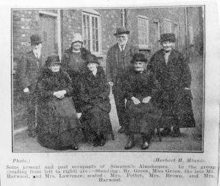Some of the residents prior to 1931. | Included in the minutes book. Courtesy of Hertfordshire Archives and Local Studies ref NR8/11/4