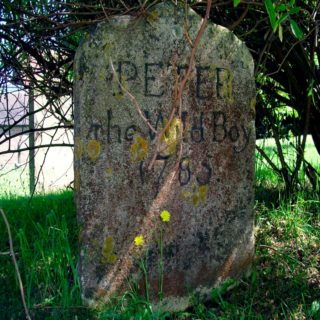 Peter's gravestone, St Mary's Northchurch